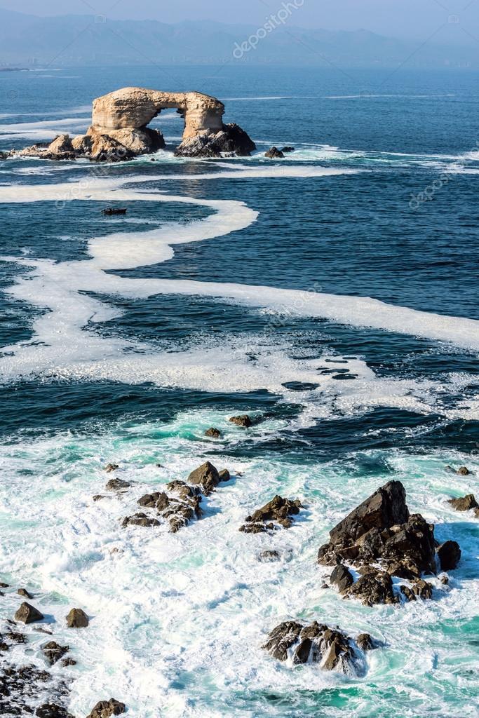 La Portada (Arch Rock) in Antofagasta, Chile