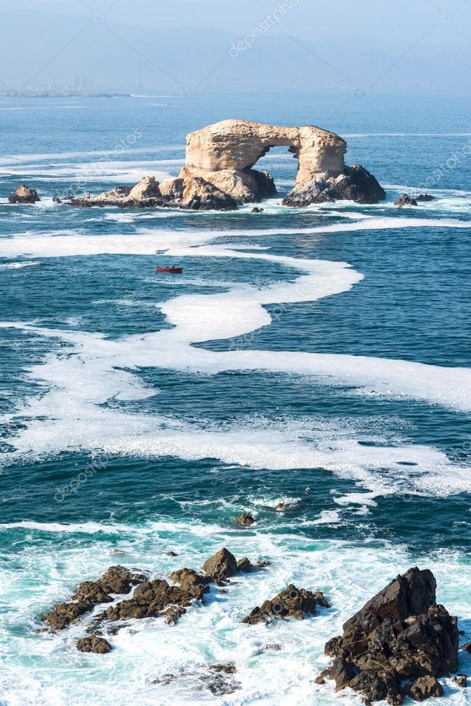 Arco formaci n de roca en la portada de la reserva for Formacion de la roca
