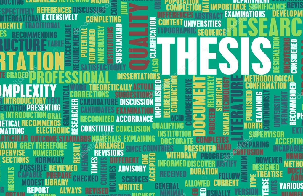 Thesis Background ⬇ Stock Photo, Image By © Kentoh #58126605