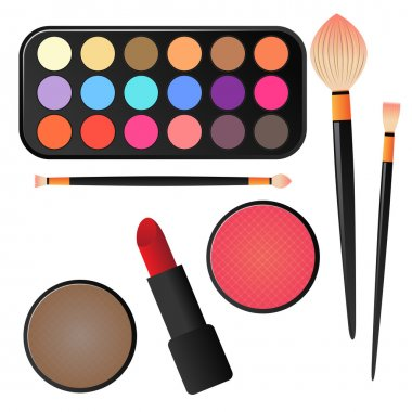 Various Makeup and Cosmetics