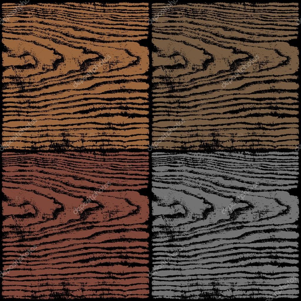 Dark Wood Texture Background Empty Natural Pattern Swatch Template