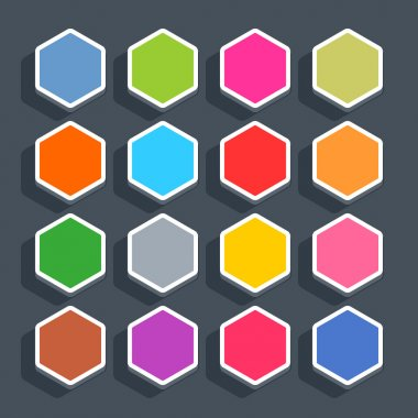 16 3d blank icons