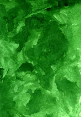Green texture watercolor background