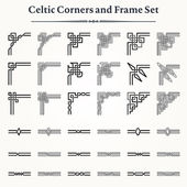 Photo Set of Celtic Corners and Frames