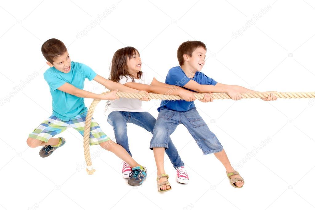 веревки игра