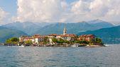 Jezero Maggiore rybáři ostrov