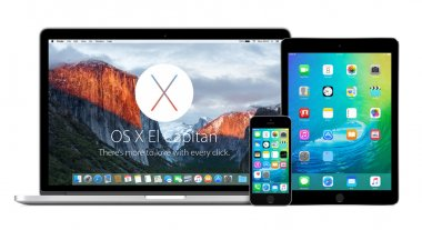 Apple Macbook with OS X El Capitan and iPhone iPad with iOS 9