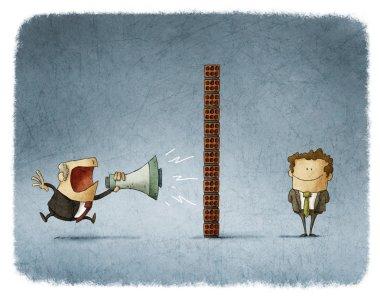 Boss and employee communication