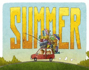Summer family journey