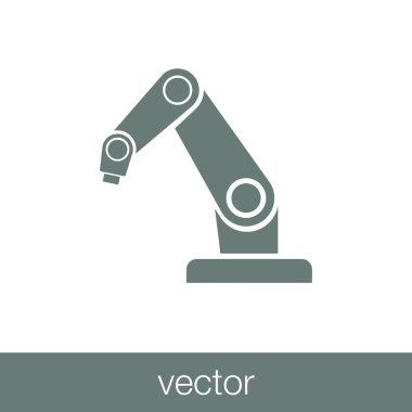 Product development concept icon. robot icon. industry robot ico
