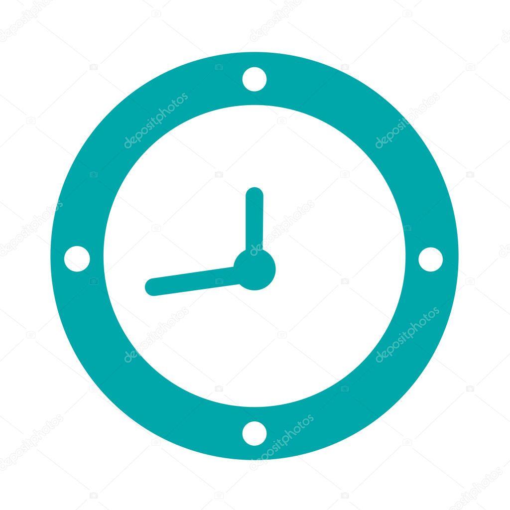時間の追跡者 時間 fac ボタン ストック イラスト 時計 ストック