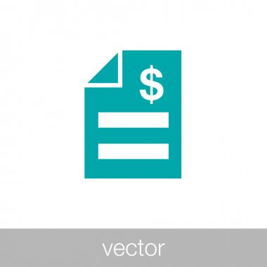 invoice concept. bill icon