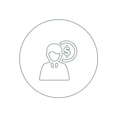 Personal Expenditure icon. finance icon. economy symbol. busines