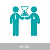 Fotografia icona di meeting aziendale limitata