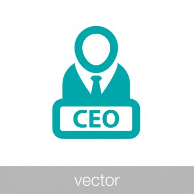 Manager icon - CEO icon - Boss icon