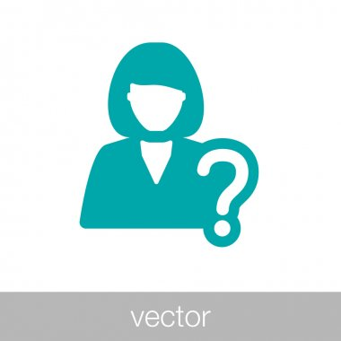 Checking and selecting candidate icon - business and employment