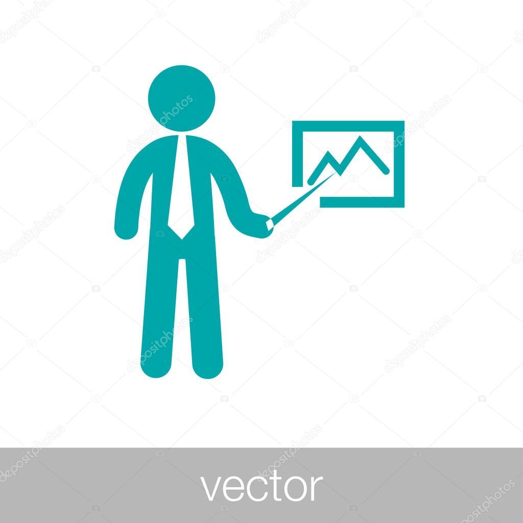 Business Projekt Präsentation II — Stockvektor © Mr_Graphic_Designer ...