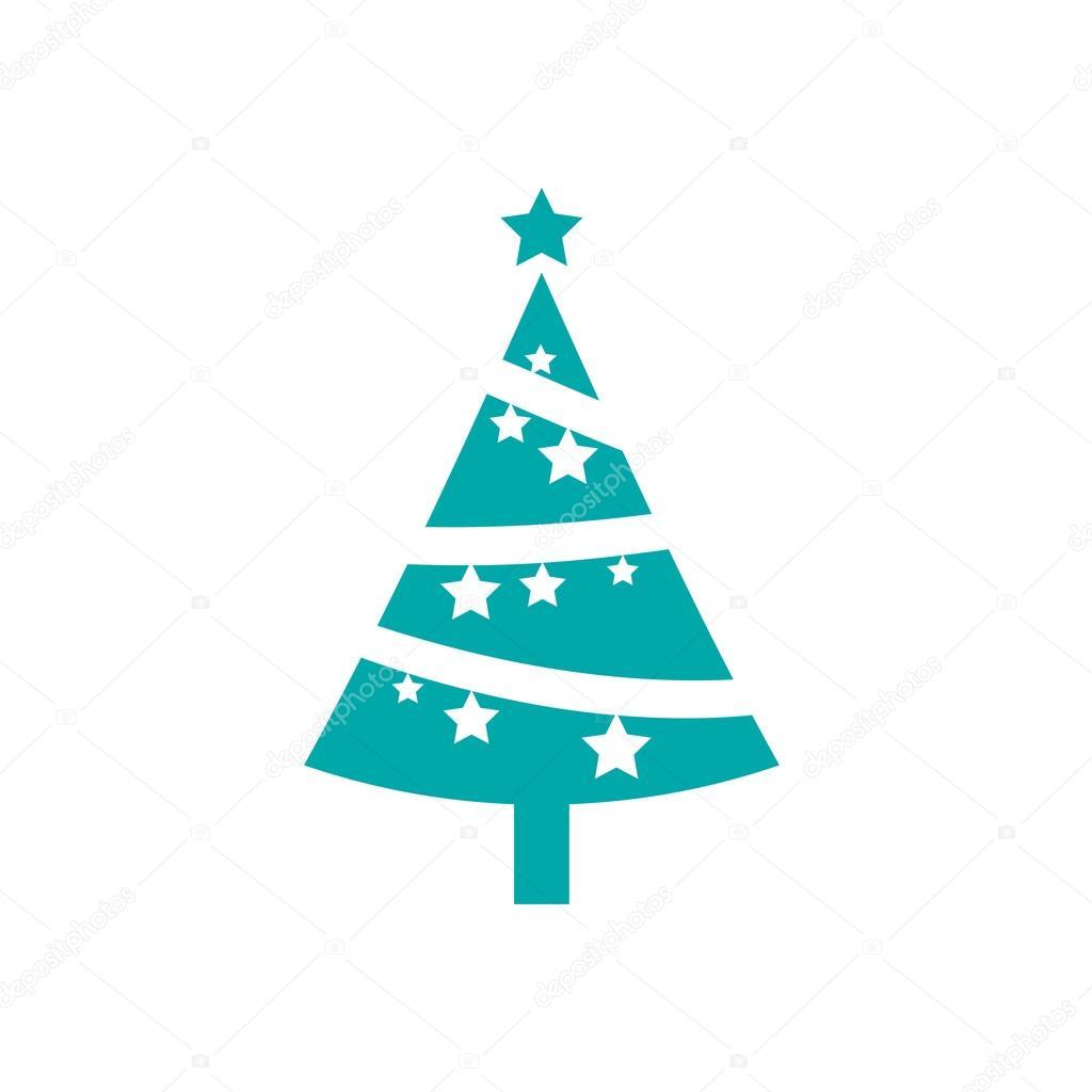 Symbol Weihnachtsbaum.Weihnachtsbaum Symbol Stockfoto Mr Graphic Designer 86376764