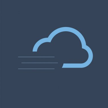 Weather icons. Colorful weather forecast design elements  perfect for mobile apps and widgets. Contains icons of the sun  clouds  snowflakes  wind  rain  temperature and more. icon