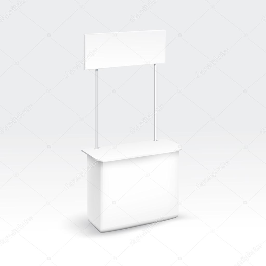Exhibition Stand Vector : Vector blank exhibition trade stand — stock zonda