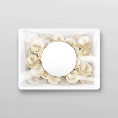 Pelmeni Meat Dumplings Ravioli Packaging