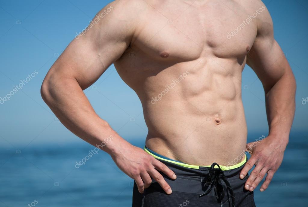 Male Muscular Upper Body Stock Photo Jaim924 67660085