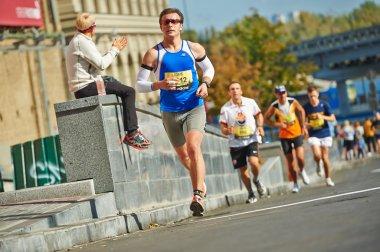 People run on Kyiv Half Marathon