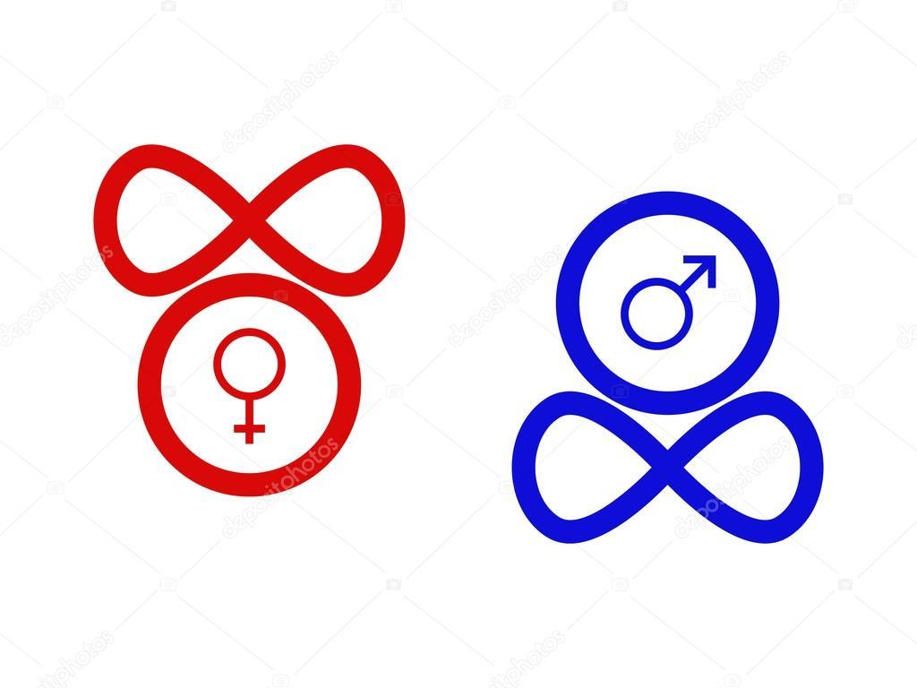 Symbols of gender stock vector albisoima 105877268 symbols of gender stock vector 105877268 buycottarizona