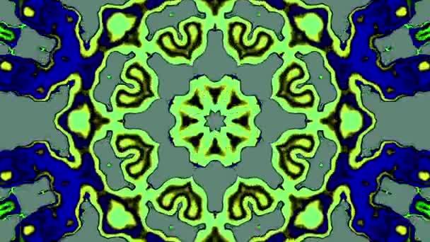 Kaleidoskopický bláznivé tvary