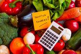 Fotografie počítání kalorií