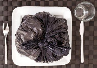 Garbage food