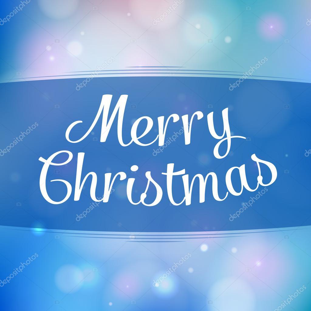 Frohe Weihnachten Gruß Hintergrund mit Urlaub Mitteilung ...
