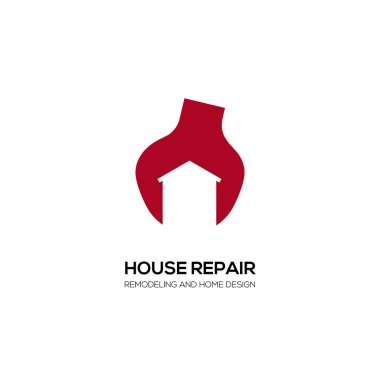 House  Building  Real Estate Vector Symbol