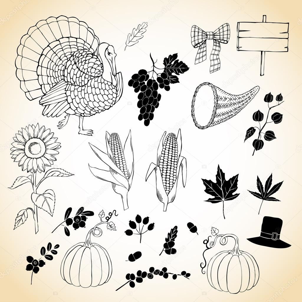 Thanksgiving day and harvest