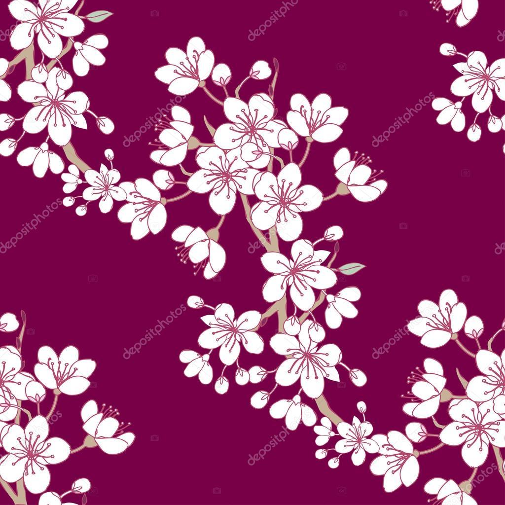 Seamless Pattern Sakura