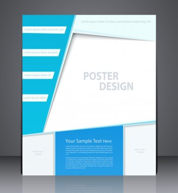 Vector layout business brochures or poster, magazine cover, or c