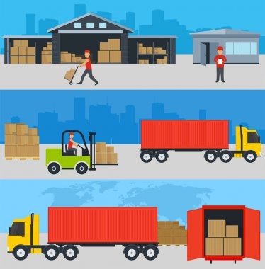 Concept of services in delivery of goods
