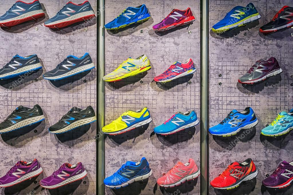 new photos thoughts on differently MADRID, SPAIN - SEPTEMBER 9: New Balance athletic shoes on a ...