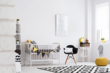 Baby room full of warmth and style