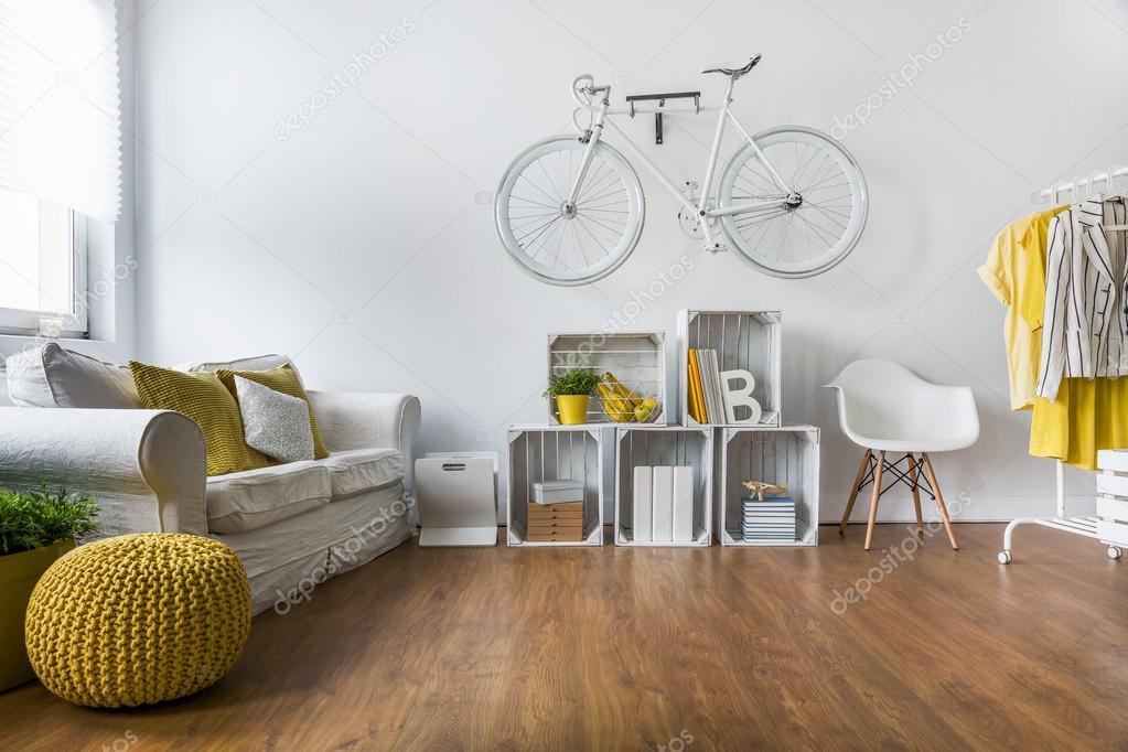 Pisos living decoracion | Amplio living comedor con piso de madera ...