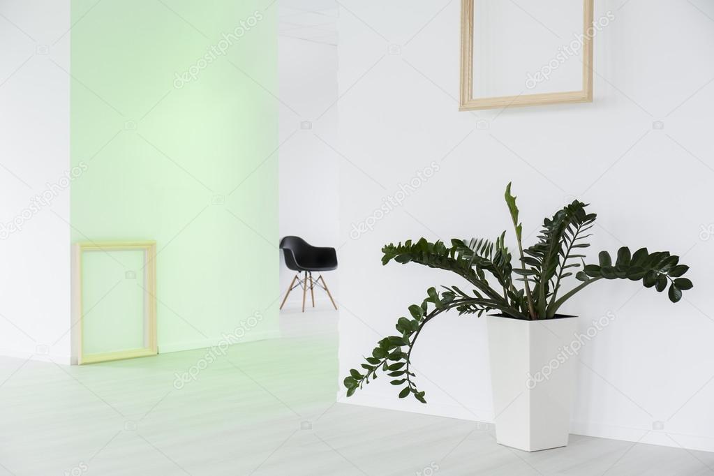 Eenvoudige bloem kunnen een mooie huisdecoratie u stockfoto