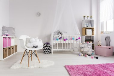 Great example of a well-designed nursery