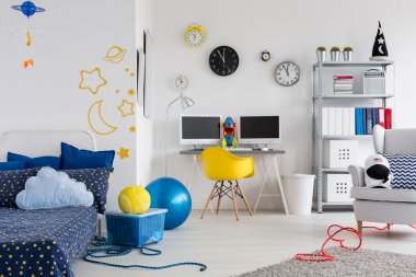 Make the room reflect your child's hobby