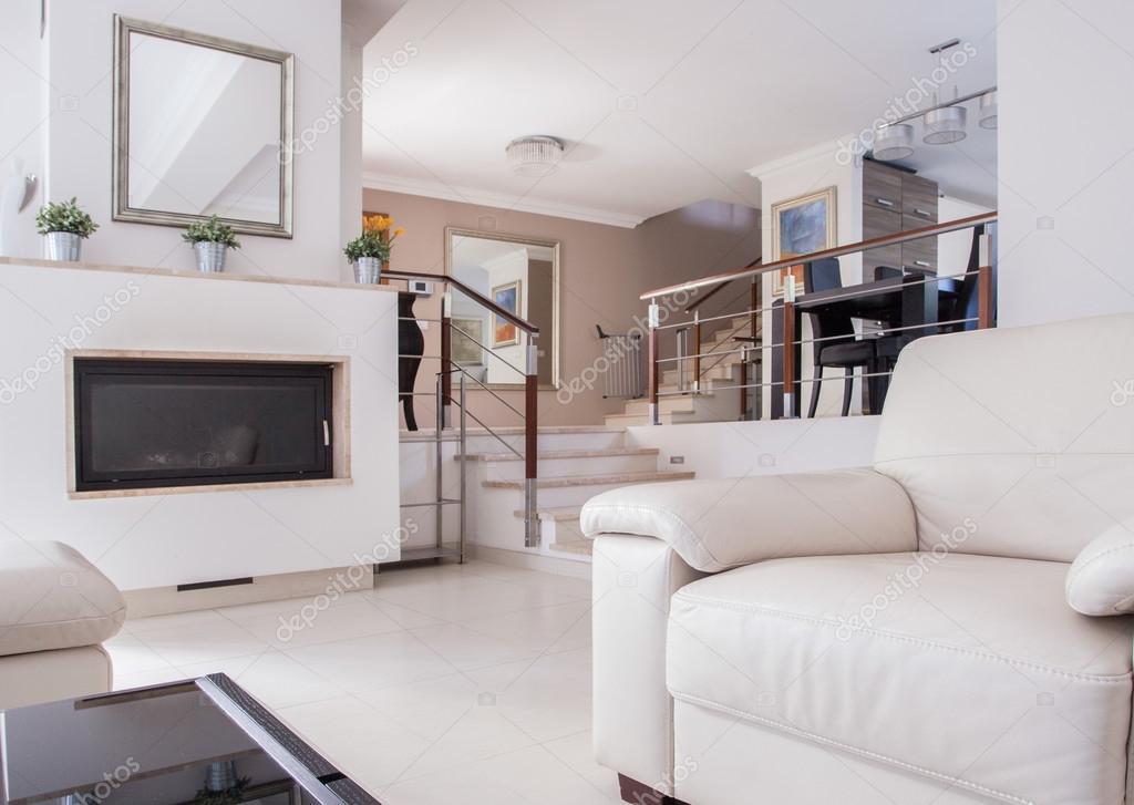 Superb Moderne Luxus Haus Innen U2014 Stockfoto