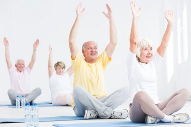 Deriving pleasure from fitness for seniors classes