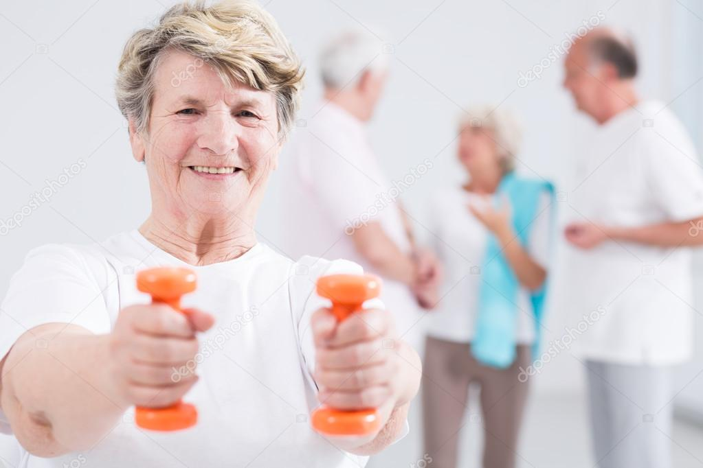 Gaining strenth and energy vital at all ages