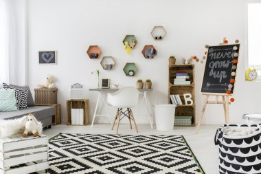 Creative ideas in a child's room