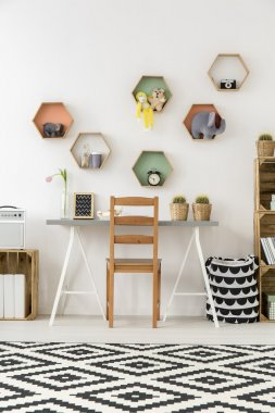 Getting creative with the color and furnishing
