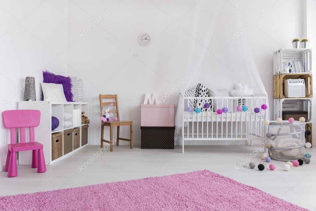 Meravigliose camerette da principessa disney per bambine dự