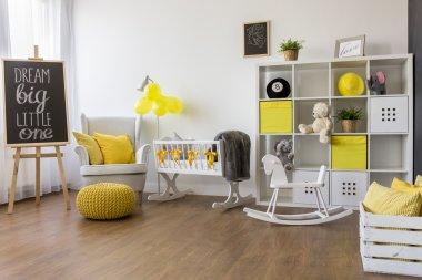 Perfect idea for a unisex nursery